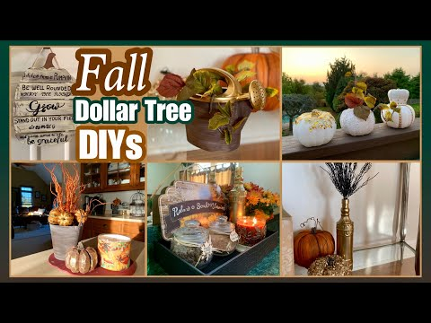FALL Dollar Tree DIYs