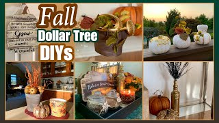 FALL Dollar Tree DIYs