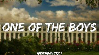 Katy Perry - One Of The Boys (Lyrics)