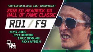 2018 HOFC   R1F9   McMahon, Jones, Wysocki, Robinson
