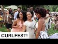 ITS CRAZY IN HERE! + CURLFEST | NEW YORK VLOG