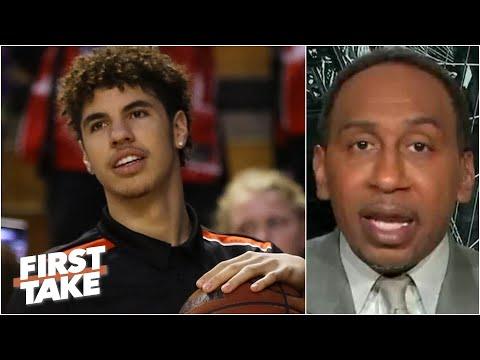 'You've got to be aggressive!' - Stephen A. on LaMelo Ball to the Hornets | First Take