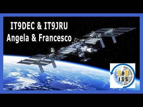 ISS - SPACE STATION INTERNATIONAL -  RICEZIONE IN SSTV DI IMMAGINI DALLO SPAZIO