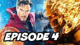 Agents Of SHIELD Season 4 Episode 4 Ghost Rider vs Hellfire Marvel Easter Eggs