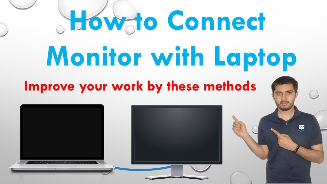 How To Connect Second Screen Or Monitor With A Laptop
