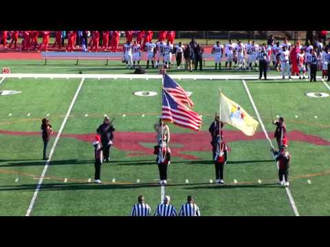 Clifton Mustang Marching Band - 11/23/17 (vs. Passaic) (with band alumni)