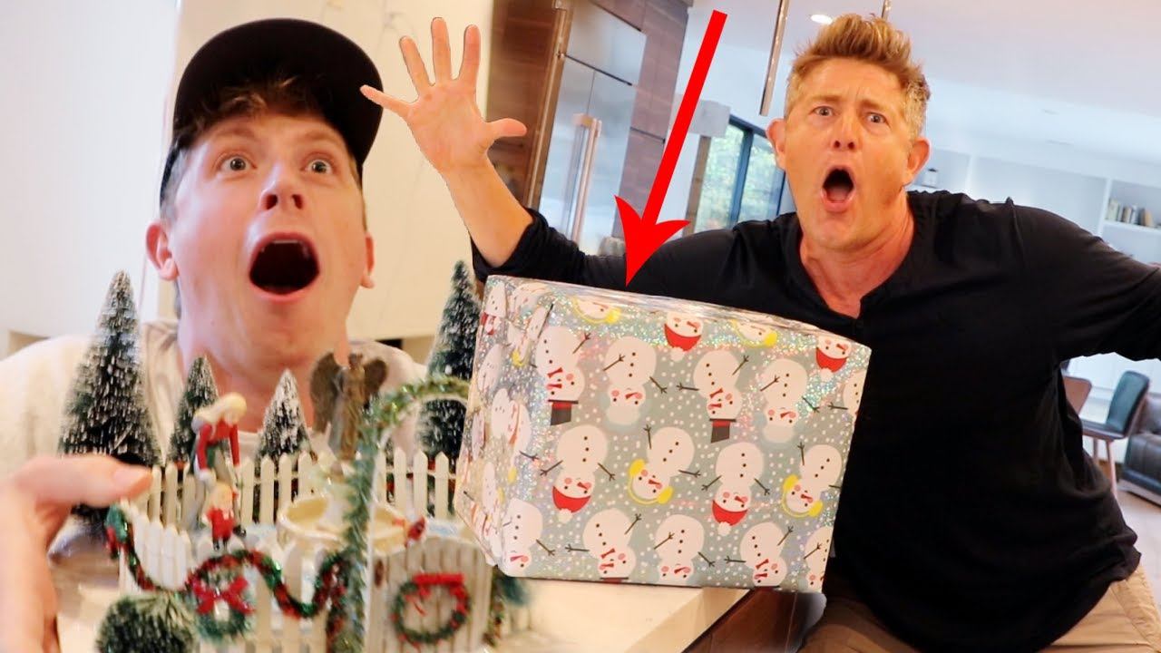 HE COULDN'T BELIEVE THIS CHRISTMAS SURPRISE!!