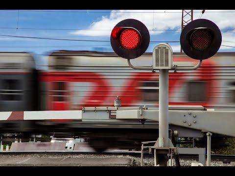 Как правильно и безопасно проезжать ЖД переезд