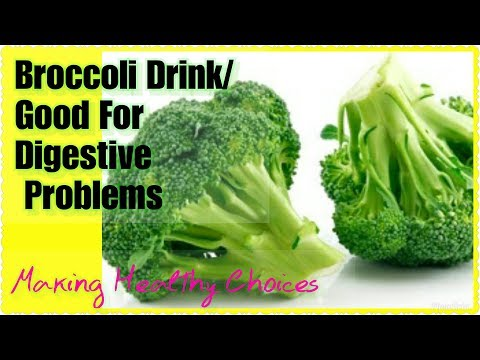 Broccoli Vegetable Drink/Fight Cancer/Heart/Problems/Stomach/Hair Growth