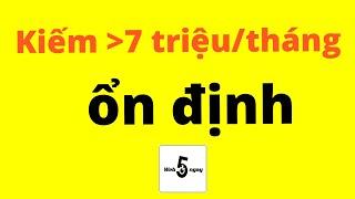 SEO #3: Cách Kiếm Ít Nhất 7 Triệu/tháng Từ Bán Hàng Online