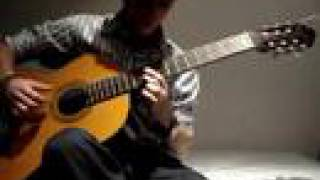 Arab Egypt middle east classical guitar song / Guitarra clasica Arabe