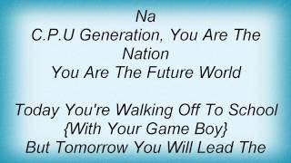 Eiffel 65 - People Of Tomorrow Lyrics