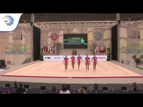 2015 Aerobic Junior European, Elvas (POR) – Group Final