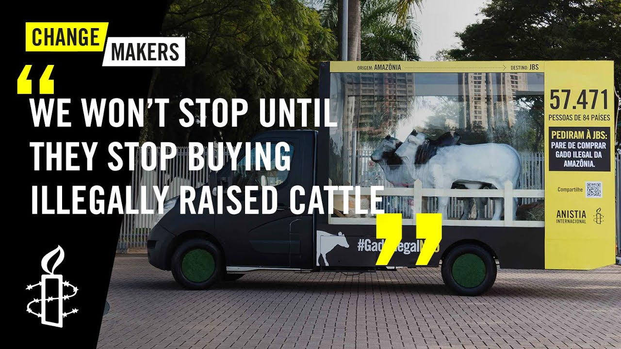 Brazilian Activists Protest the Largest Beef Producer in the World