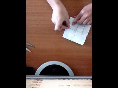 Кубик Рубика из бумаги Часть 2