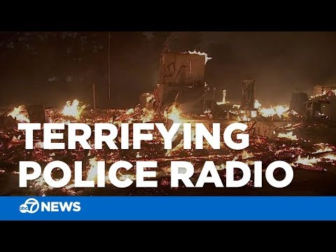 Terrifying police radio