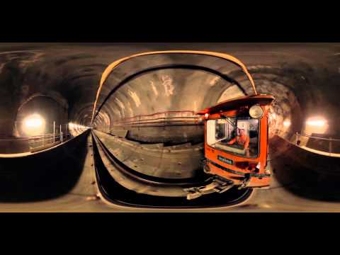 Take an underground tour of London's Crossrail with this epic interactive video