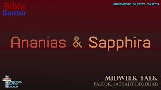 71) Bible Banter - David's Sin - Pastor Satyajit Deodhar