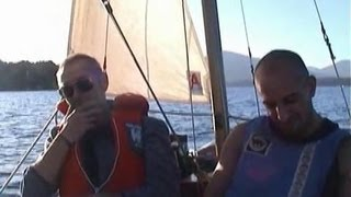 Wild Camping by sail boat no Tent