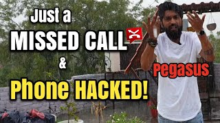 Smartphone Hacked By a Missed call   Pegasus   Rainy day Technical Dost