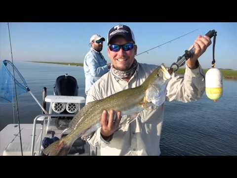 Texas Slam on Artificial Lures: Redfish, Flounder, and Trout Texas Laguna Madre