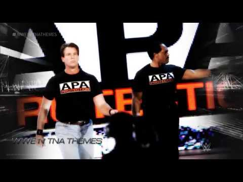 The A.P.A (Acolytes Protection Agency) 1st WWE Theme Song 2015 -