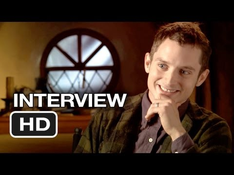 The Hobbit: An Unexpected Journey Elijah Wood Interview - Frodo (2012) HD