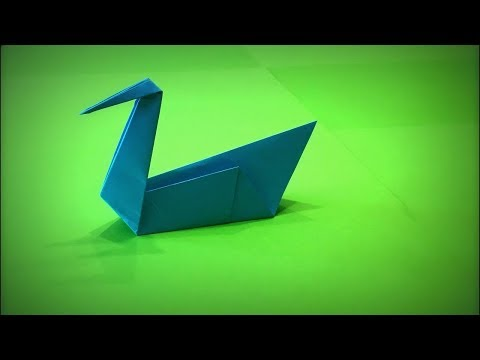 How to Make a Paper Swan DIY - Easy Origami Step by Step