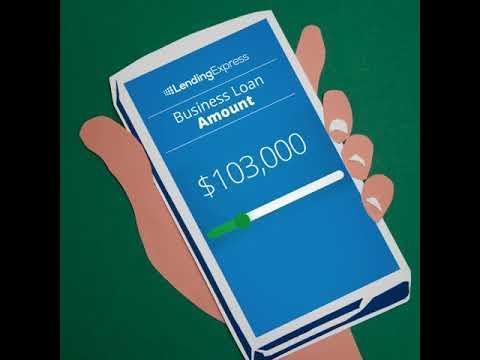 Lending Express - How to make a loan story short