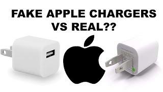 Original Apple Charger Vs Fake Aftermarket Gas Station Charger