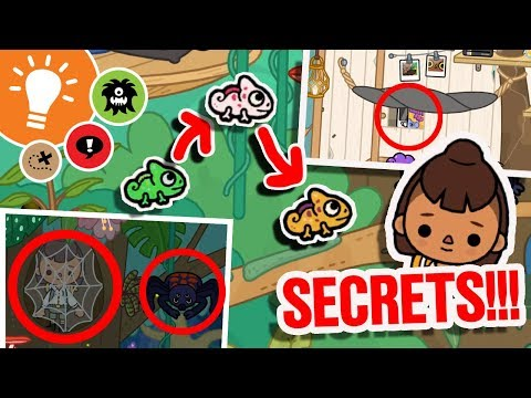 ALL TREE HOUSE SECRETS!!! | NEW LOCATION in Toca: Life World | Toca Boca