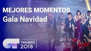 Mejores momentos Gala de Navidad | OT 2018