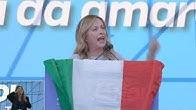 Una folla immensa accoglie a San Giovanni una straordinaria Giorgia Meloni! Emozionante! Evviva Noi