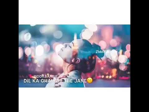 Jane Har Bar Mere Sath .....whatsapp Status Video ♥
