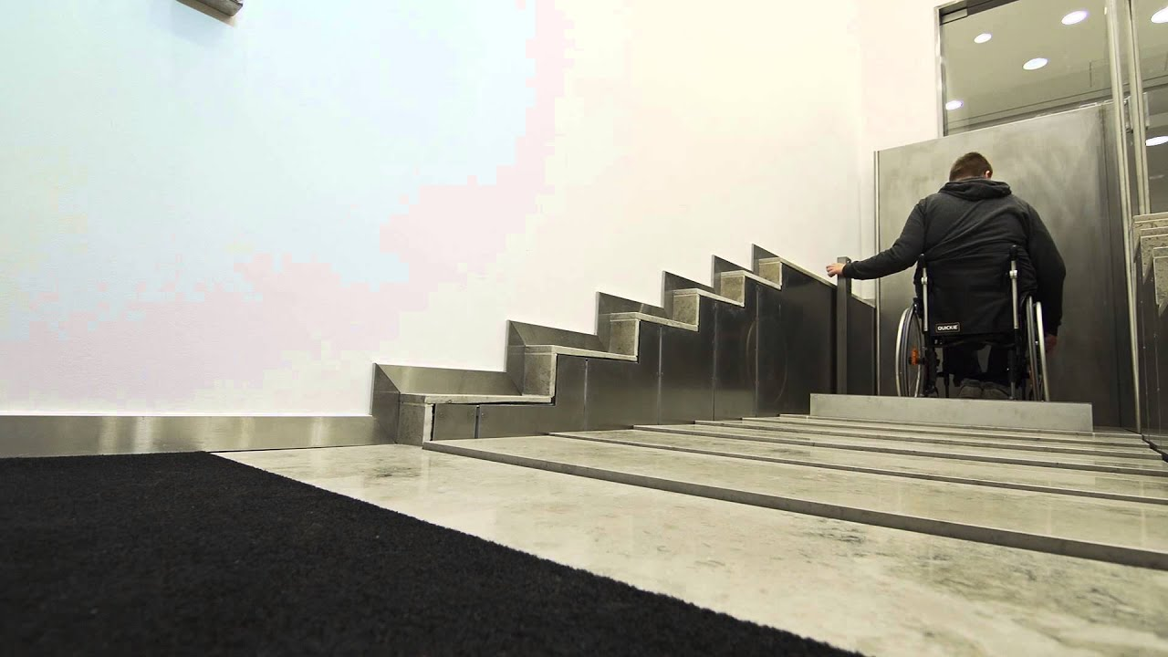 Stepless by Guldmann: Model C, SLP22 combined platform ...