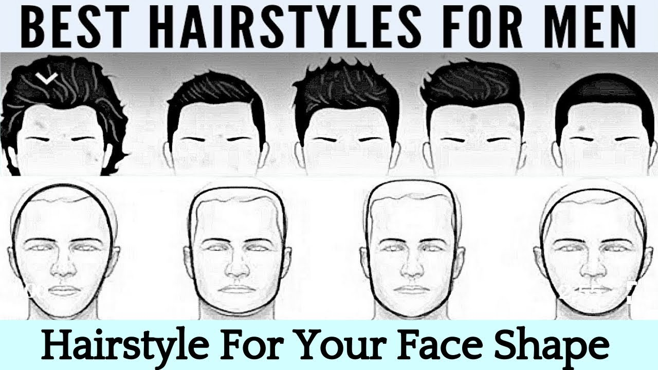 Choose The Best Hairstyle For Your Face Shape For Men How To Pick A New Men S Hair Style Youtube