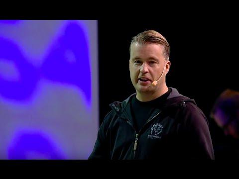 Fredrik Wester VD på Paradox Interactive pitchar bolaget!