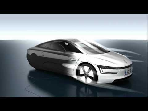 Volkswagen XL1 production version - animated technology