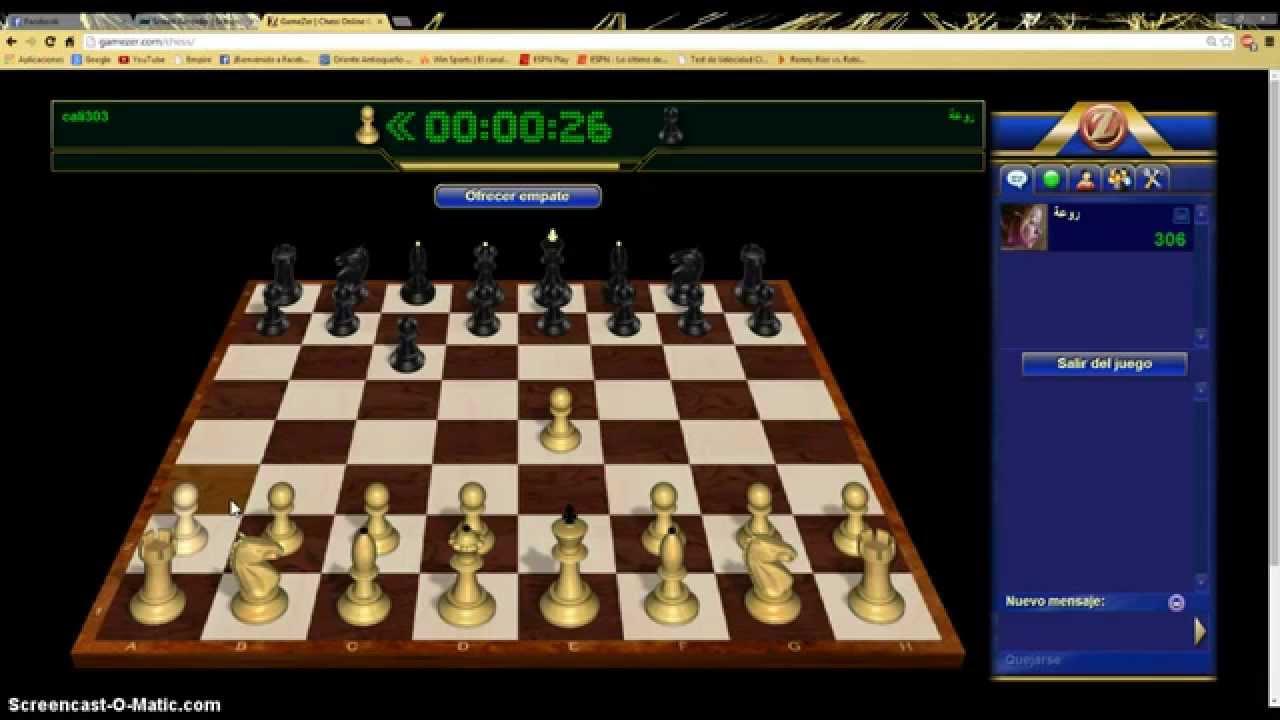 donde jugar ajedrez online gratis youtube