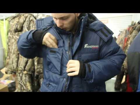 видео: [архив] Костюм для рыбалки nova tour «Буран v.2», зимний. Обзор