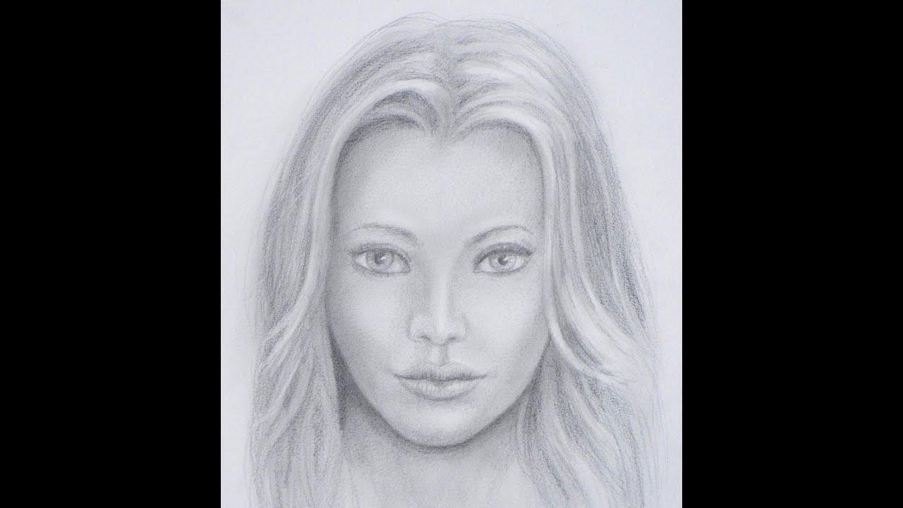 Dibujar una cara realista cmo dibujar un rostro  Arte Divierte