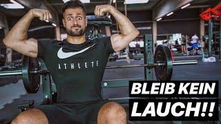 5 Gründe warum Du KEINE Muskeln aufbaust & Lauch bleibst!