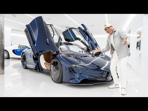 HERMES SPEEDTAIL FIRST DRIVE! || Manny Khoshbin