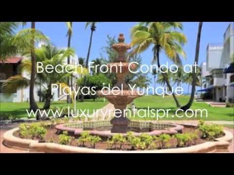 Beach Front Condo at Playas del Yunque