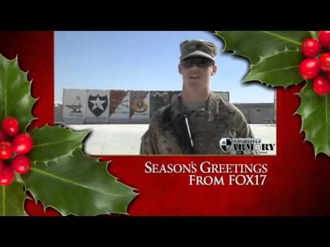 SOLDIER GREETINGS: Spc. Michael Frederick