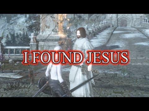 Dark Souls 3 | The Pale Man finds Jesus