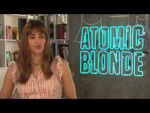 Atomic Blonde: Sofia Boutella Official Movie Interview
