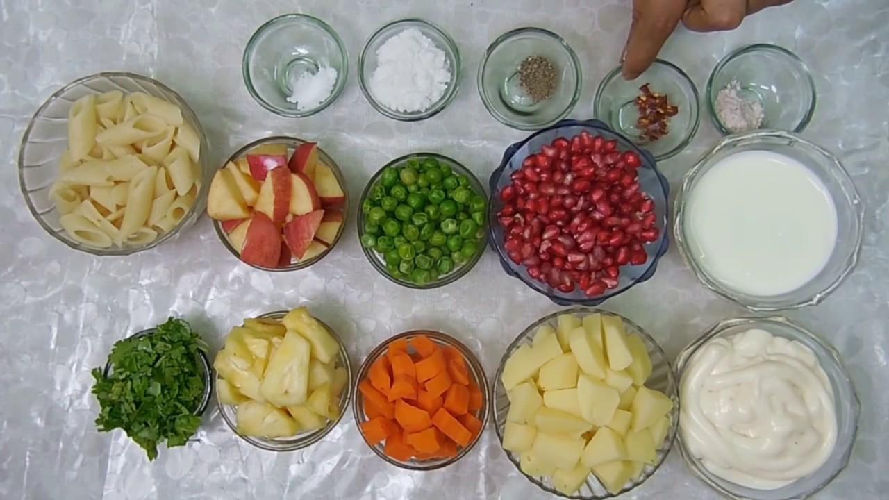 Veg Russian Salad Recipe in Hindi - Ramzan Special||How to ...