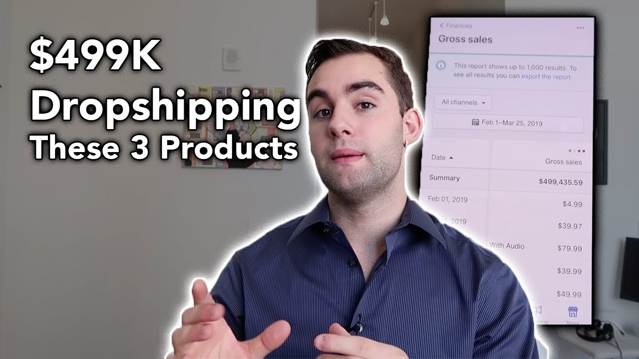 $499K Dropshipping These 3 Products | Shopify Dropshipping 2019