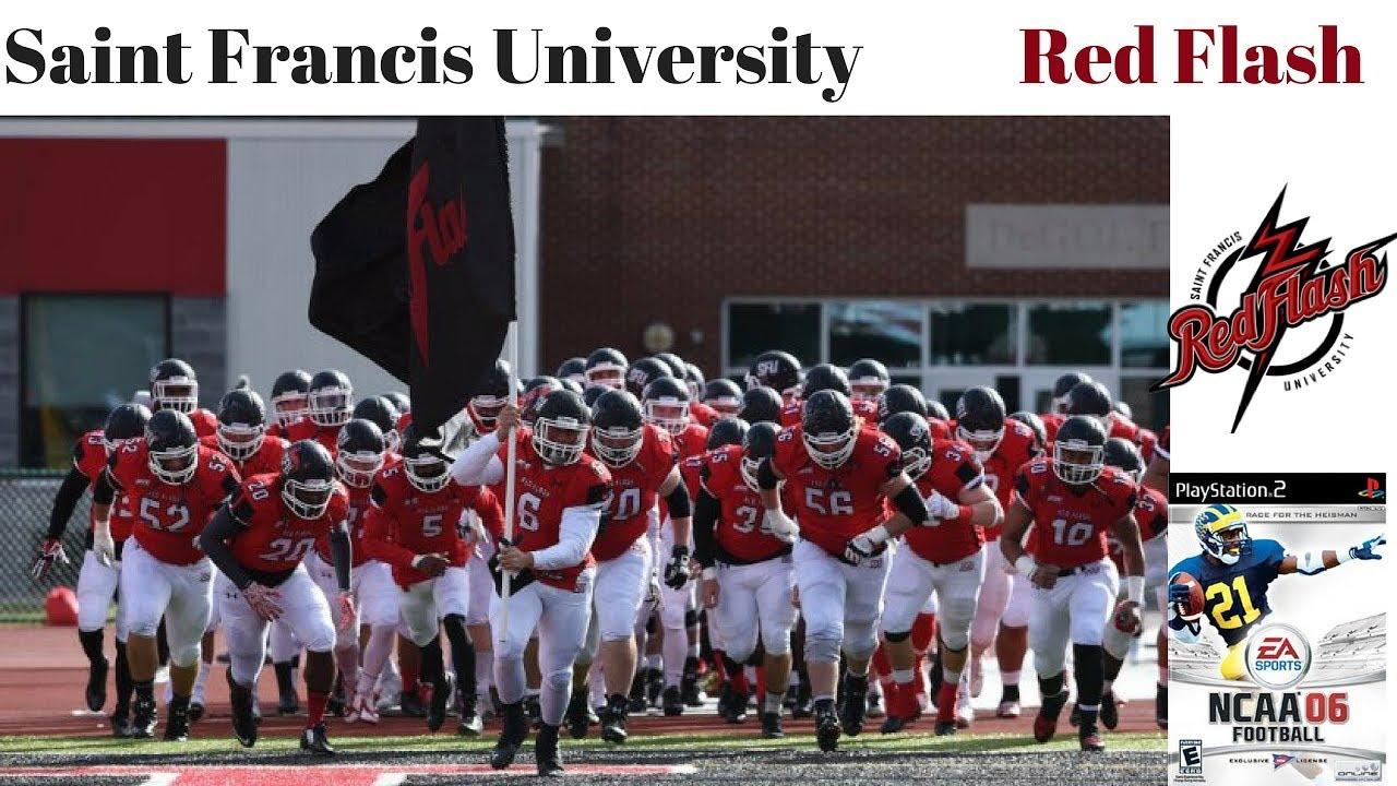 Saint Francis University Red Flash Creation Ncaa Football 2006
